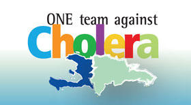 One team against cholera